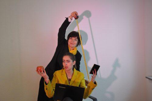 Consulterin Baumann und Bettina Zimmer
