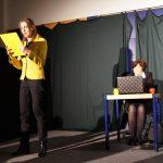 Signe Zurmuehlen und Martina Frenzel bei Auftritt im verdi Bildungszentrum GladenbachFoto: Fototeam ver.di Hessen