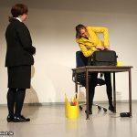 Signe Zurmuehlen und Martina Frenzel bei der IGMetall-Veranstaltung in Neuwied